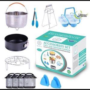 Other - 9 Piece Accessories Set Presure Cooker Instant Pot